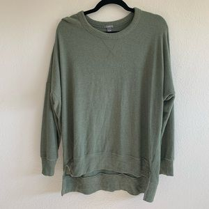 Aerie soft slouchy drop shoulder sweatshirt small